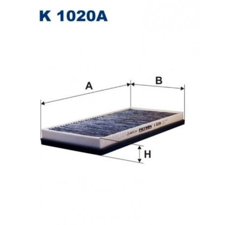 FILTR KABINOWY FILTRON K1020A