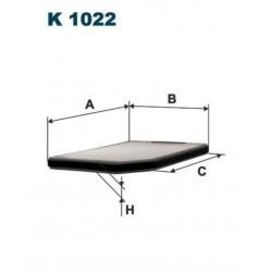FILTR KABINOWY FILTRON K1022