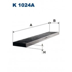 FILTR KABINOWY FILTRON K1024A