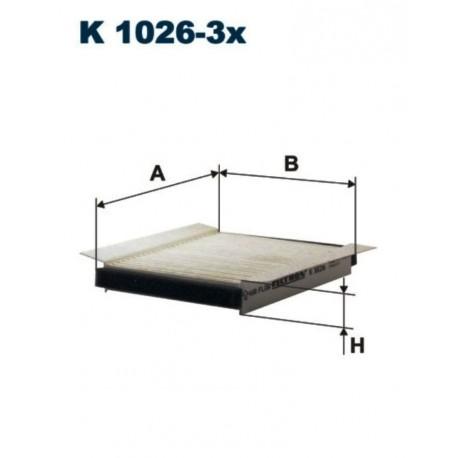 FILTR KABINOWY FILTRON K1026-3X