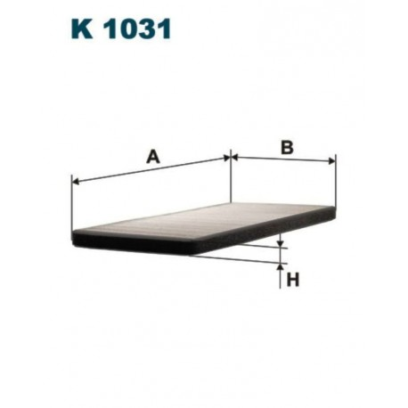 FILTR KABINOWY FILTRON K1031