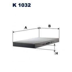 FILTR KABINOWY FILTRON K1032