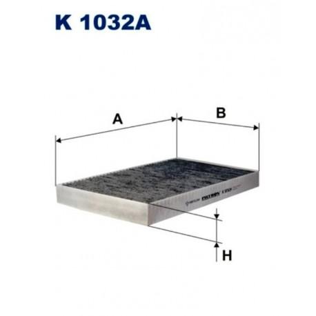 FILTR KABINOWY FILTRON K1032A