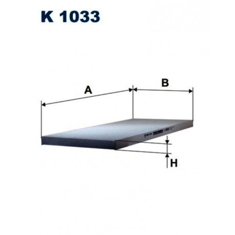 FILTR KABINOWY FILTRON K1033