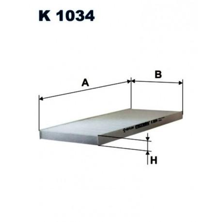 FILTR KABINOWY FILTRON K1034