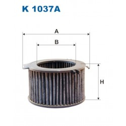 FILTR KABINOWY FILTRON K1037A
