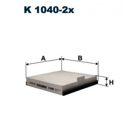 FILTR KABINOWY FILTRON K1040-2X