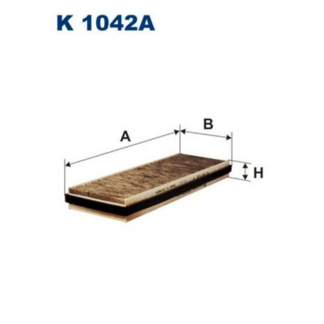 FILTR KABINOWY FILTRON K1042A