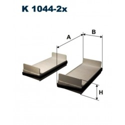 FILTR KABINOWY FILTRON K1044-2X