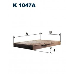 FILTR KABINOWY FILTRON K1047A