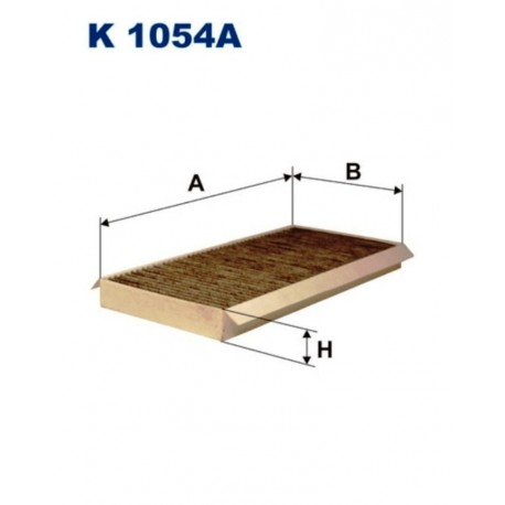 FILTR KABINOWY FILTRON K1054A