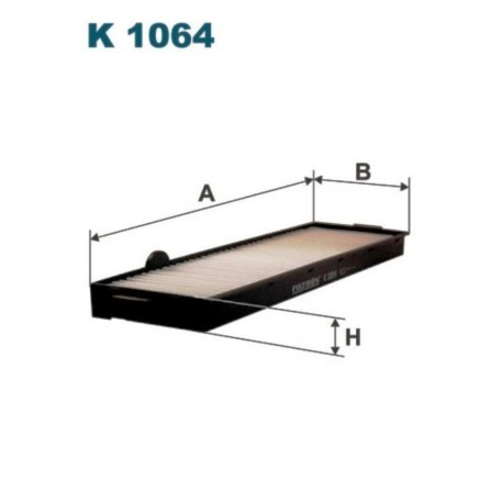 FILTR KABINOWY FILTRON K1064