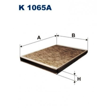 FILTR KABINOWY FILTRON K1065A