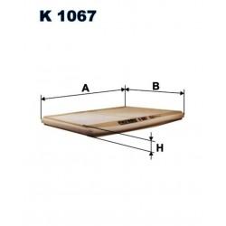 FILTR KABINOWY FILTRON K1067