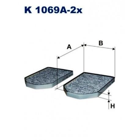 FILTR KABINOWY FILTRON K1069A-2X