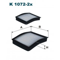 FILTR KABINOWY FILTRON K1072-2X