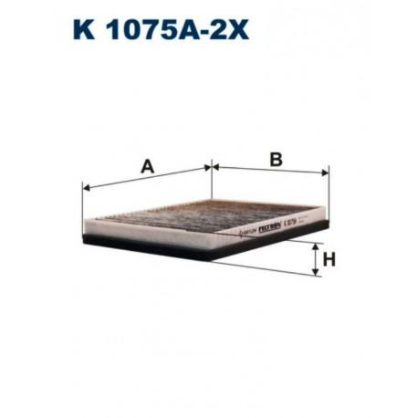 FILTR KABINOWY FILTRON K1075A-2X