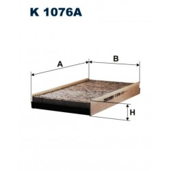 FILTR KABINOWY FILTRON K1076A