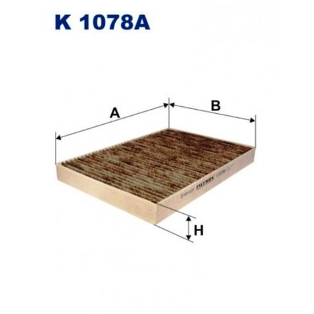 FILTR KABINOWY FILTRON K1078A