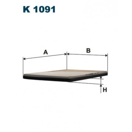 FILTR KABINOWY FILTRON K1091
