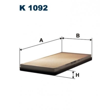 FILTR KABINOWY FILTRON K1092