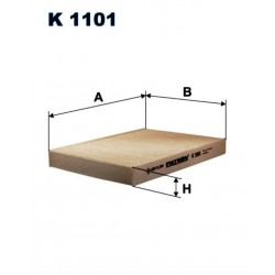 FILTR KABINOWY FILTRON K1101