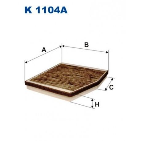 FILTR KABINOWY FILTRON K1104A