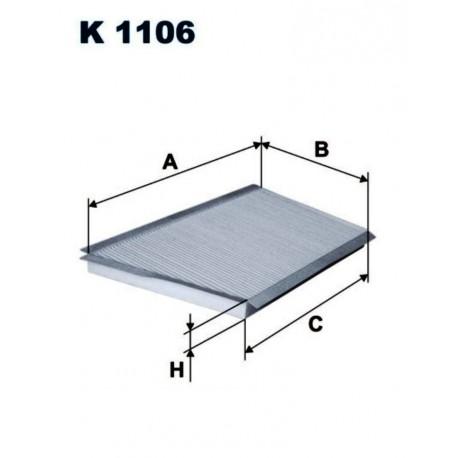 FILTR KABINOWY FILTRON K1106