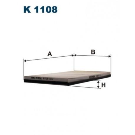 FILTR KABINOWY FILTRON K1108