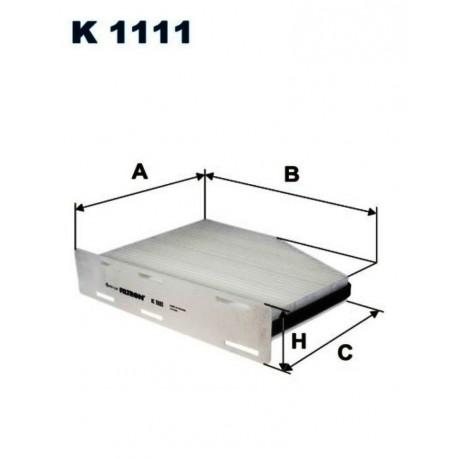 FILTR KABINOWY FILTRON K1111