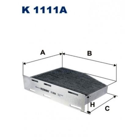 FILTR KABINOWY FILTRON K1111A