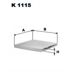 FILTR KABINOWY FILTRON K1115