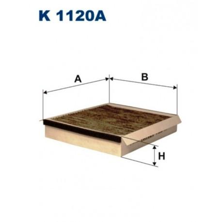 FILTR KABINOWY FILTRON K1120A