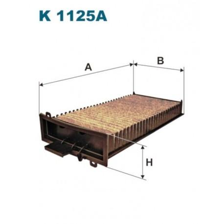 FILTR KABINOWY FILTRON K1125A