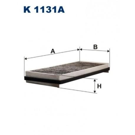 FILTR KABINOWY FILTRON K1131A