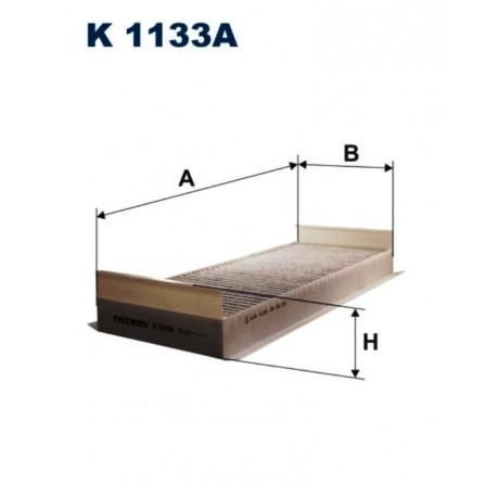 FILTR KABINOWY FILTRON K1133A