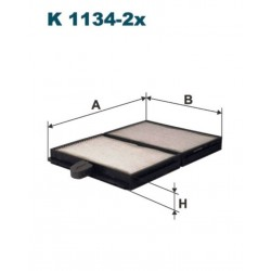 FILTR KABINOWY FILTRON K1134-2X