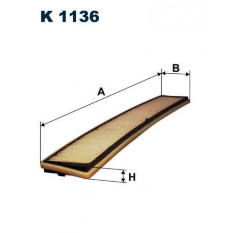 FILTR KABINOWY FILTRON K1136