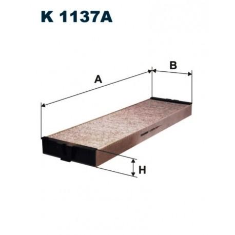 FILTR KABINOWY FILTRON K1137A