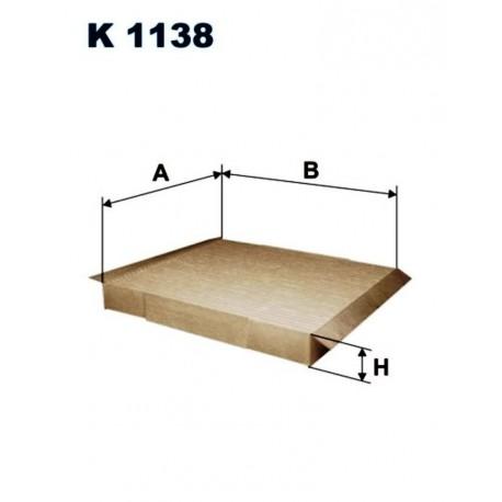FILTR KABINOWY FILTRON K1138