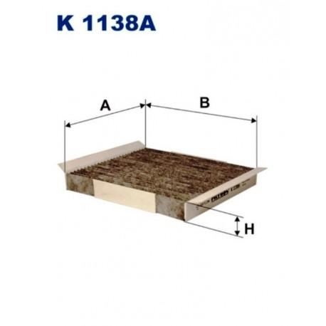 FILTR KABINOWY FILTRON K1138A