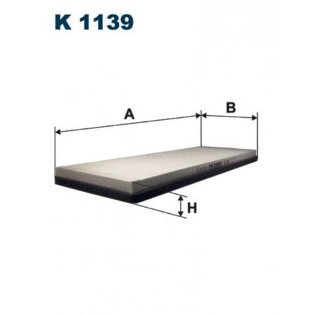 FILTR KABINOWY FILTRON K1139