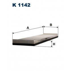 FILTR KABINOWY FILTRON K1142
