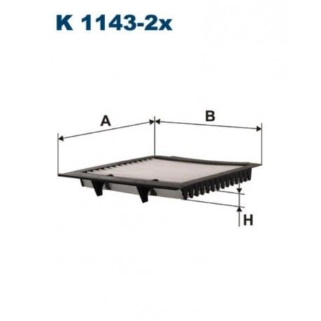 FILTR KABINOWY FILTRON K1143-2X