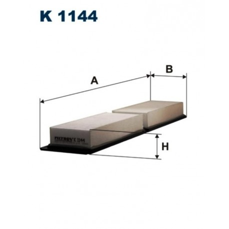 FILTR KABINOWY FILTRON K1144