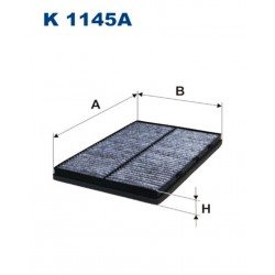 FILTR KABINOWY FILTRON K1145A