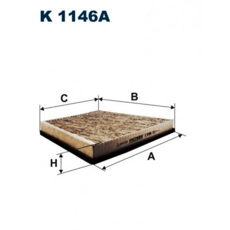 FILTR KABINOWY FILTRON K1146A