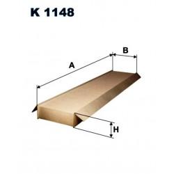 FILTR KABINOWY FILTRON K1148
