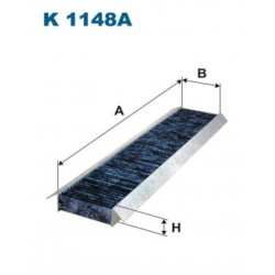 FILTR KABINOWY FILTRON K1148A