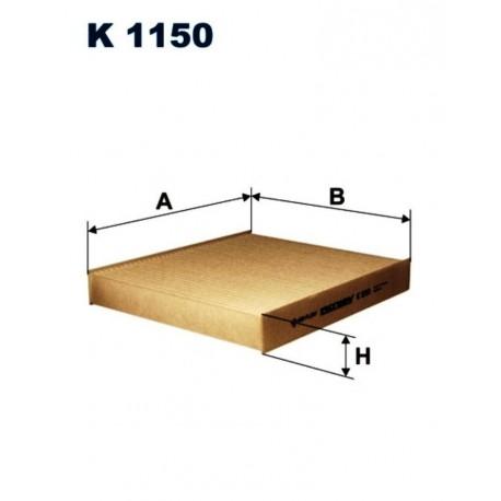 FILTR KABINOWY FILTRON K1150